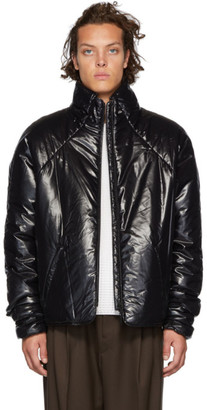 Kassl Editions Black Short Puffer Jacket