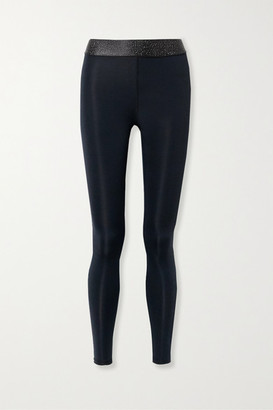 Heroine Sport Twilight Stretch And Lurex Leggings - Black