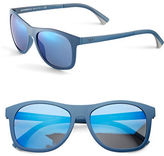 Emporio Armani 57mm Wayfarer Sunglasses