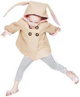 Baby Girls Double Breasted Coat Rabbit Ears SUPPION Kids Winter Jackets Coat
