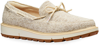 Swims Men's Motion Camp Knit Lace Loafers