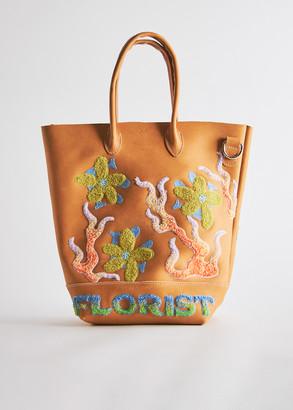 Florist Large Bucket Bag in Tan