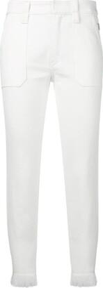 Chloé Fringe Trimmed Jeans