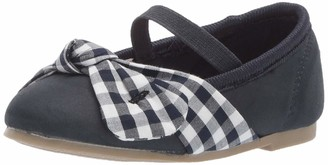 Carter's Girls' Cana Gingham Ballet Flat