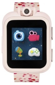 iTouch PlayZoom Blush Smartwatch for Kids with Hearts Print 42mm