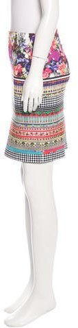 Clover Canyon Printed Mini Skirt