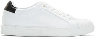Paul Smith White and Black Basso Sneakers