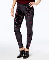 Hue Women's Juliet Floral Velvet Leggings