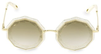 Chloé Caite 52MM Geometric Sunglasses