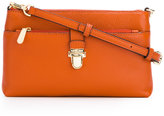 MICHAEL Michael Kors snap pocket crossbody bag - women - Cotton/Leather - One Size