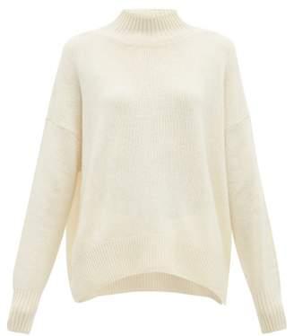 Allude Funnel Neck Cashmere Sweater - Womens - Cream