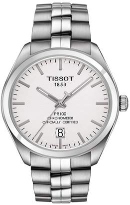 Tissot Men's PR 100 Powermatic 80 COSC Bracelet Watch, 39mm