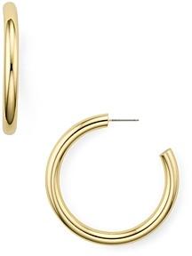 Aqua Hoop Earrings - 100% Exclusive