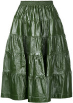J.W.Anderson tiered skirt