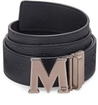 MCM Claus Reversible Leather Belt