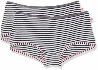 Esprit Girl's Sporty Stripe Yg 2 Hotpants Knickers