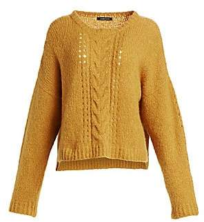 Nanette Lepore Women's Perfect Cable-Knit Pullover