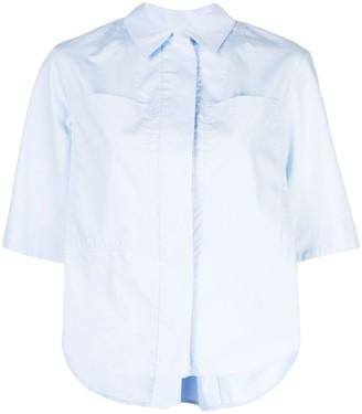 Adam Lippes Asymmetric Hem Shirt