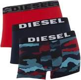 Diesel Men's 3PK camo trunks