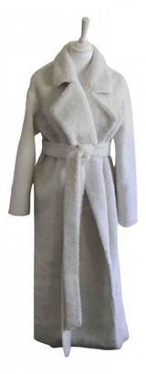 Michael Lo Sordo White Faux fur Coats
