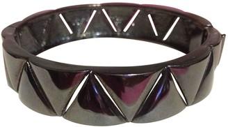 Eddie Borgo Black Metal Bracelets