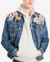Levi's Limited Men's Patched Trucker Jacket, Created for Macy's