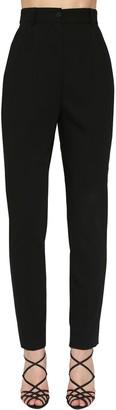 Dolce & Gabbana High Waist Stretch Gabardine Skinny Pant