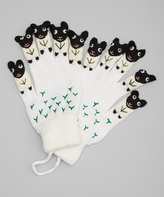 Kidorable White Sheep Gloves