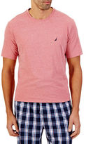 Nautica Heathered Short Sleeve Crewneck Tee