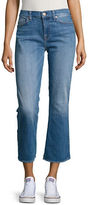 7 For All Mankind Cropped Cotton-Blend Jeans