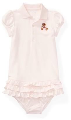 Ralph Lauren Bear Polo Dress & Bloomer