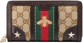 Gucci Vintage Web embroidered wallet
