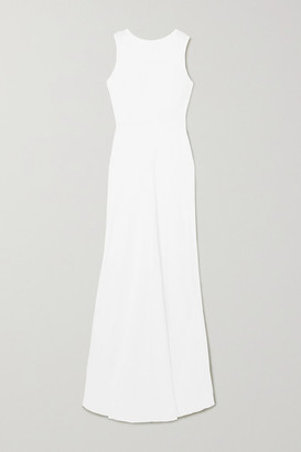 HONORINE Lisette Linen Maxi Dress - White