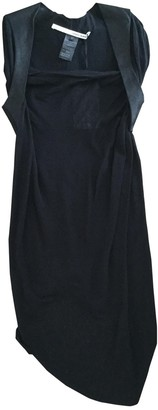 Isabel Benenato Black Cotton Dress for Women