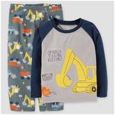 Just One You Toddler Boys' 2pc Construction Pajama Set - Just One You Made by Carter's® Gray/Navy
