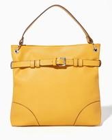 Charming charlie Boulevard Belted Shoulder Bag