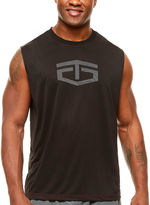 Tapout Sleeveless Logo Graphic T-Shirt-Big and Tall