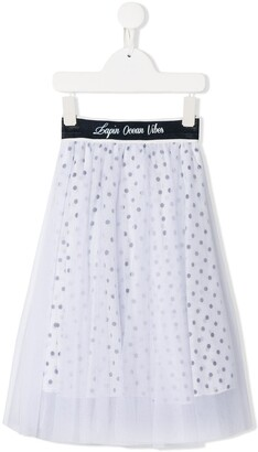 Lapin House Tulle Layered Skirt