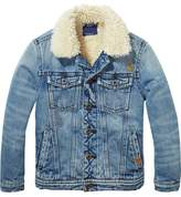 Scotch & Soda Teddy Lined Denim Jacket