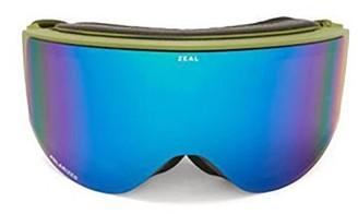 Zeal Optics Beacon Cylindrical-lens Tpu Ski Goggles - Green Multi