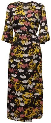 Lake Studio Printed Midi Dress