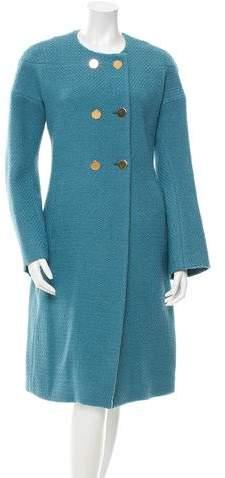 Derek Lam Wool Double-Breasted Coat w/ Tags