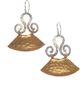 Evelyn Knight Fan Earrings