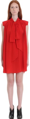 Givenchy Dress In Red Silk