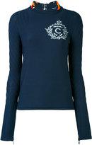 Carven open back blouse - women - Silk/Nylon/Viscose - L
