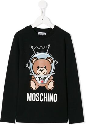 Moschino Kids spacebear long sleeve T-shirt