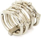 BCBGMAXAZRIA Layered Charm Ring