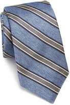 Ike Behar Men's Striped Silk Tie