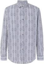 Salvatore Ferragamo striped shirt
