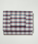 L.L. Bean Heritage Percale Sheet Set, Plaid